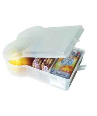 Present Time Lunchbox transparent