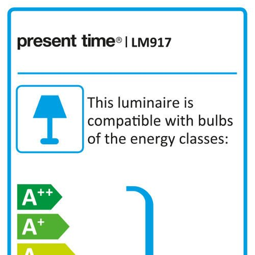 Energielabel Lampe Barefoot