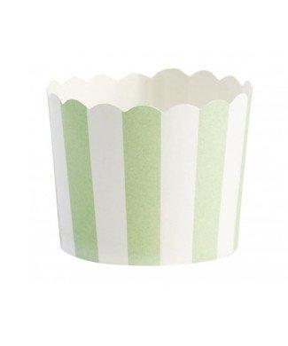 Miss Etoile Cupcakeförmchen grün