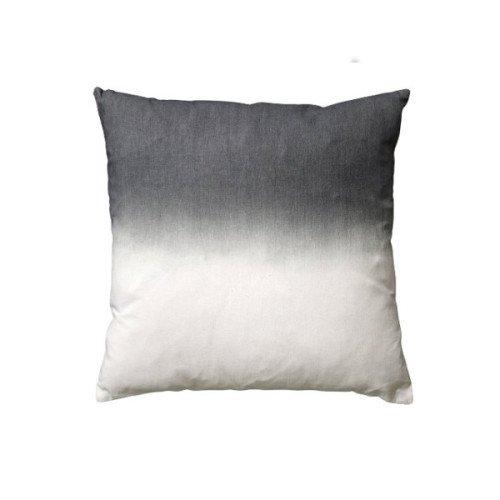 Bloomingville Kissenhülle Tie dye grau/ creme