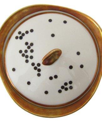 Porzellansticker schwarze Punkte von nuukk