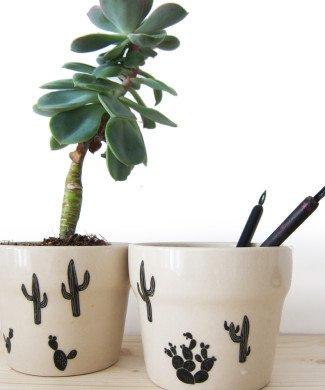 Nuukk Porzellansticker Kaktus
