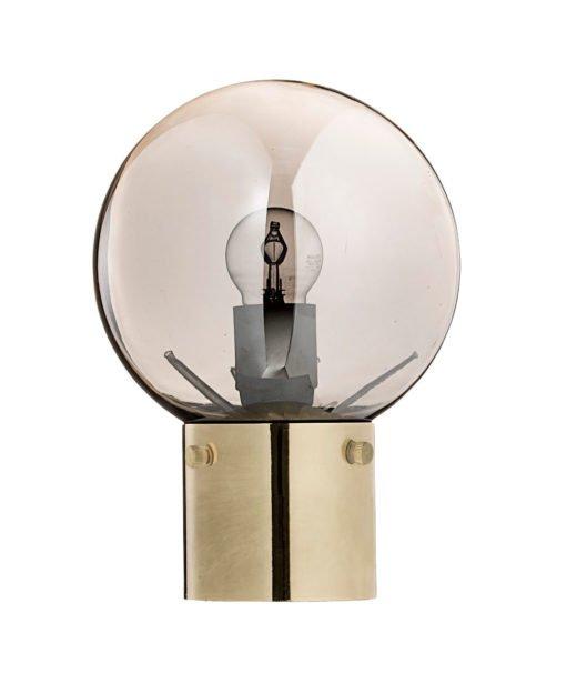 Bloomingville gold/silverglas Tischlampe