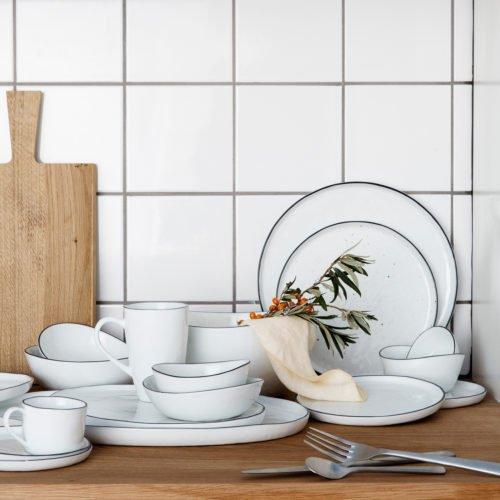 Geschirrserie Salt von Broste Copenhagen