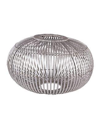 Lampenschirm ZEP silber von Broste Copenhagen