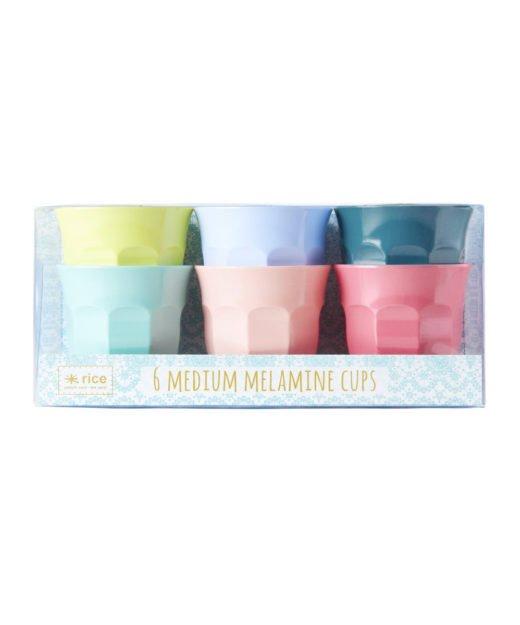 Rice melaminbecher Shine Farben