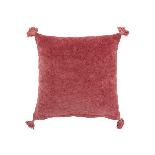 Kissen rosa mit Quasten von Bloomingville