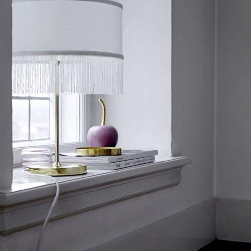 Lampe weiß von Bloomingville