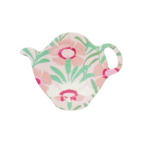 Teebeutelteller mit Blumenprint von Rice