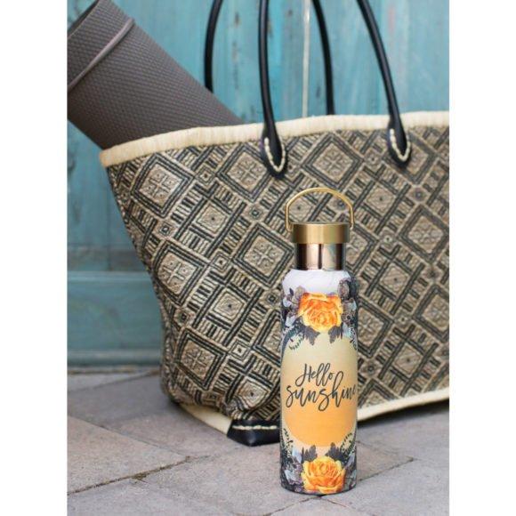 Papaya Natural Rose Flasche mood