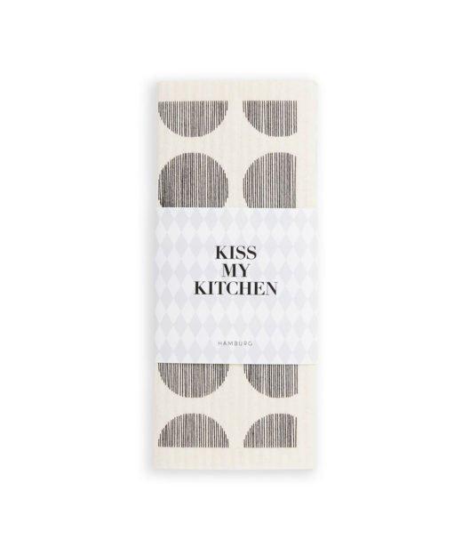 Kiss-my-kitchen-Schwammtuch-dots-weiss