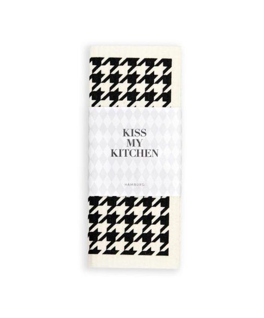 Kiss-my-kitchen-Schwammtuch-hahn-weiss