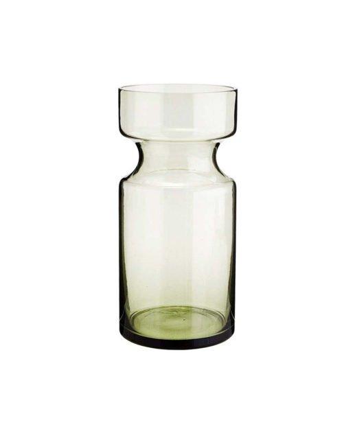Madam-Stoltz-Vase-gruen-glas