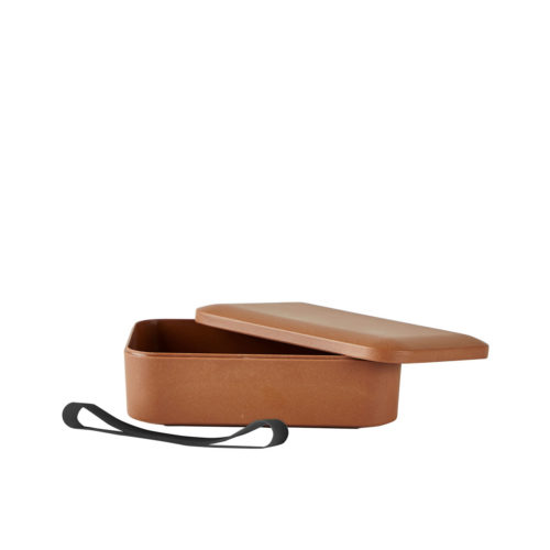 Villa-Collection-Lunchbox-braun-Bambus-offen