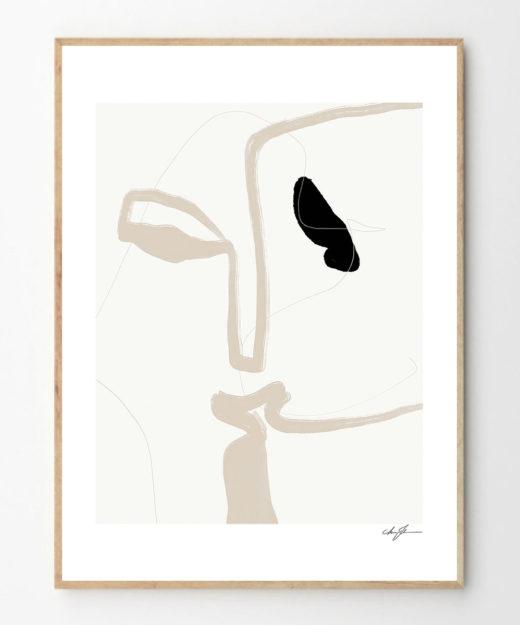 poster-anna-johansson-kiss-
