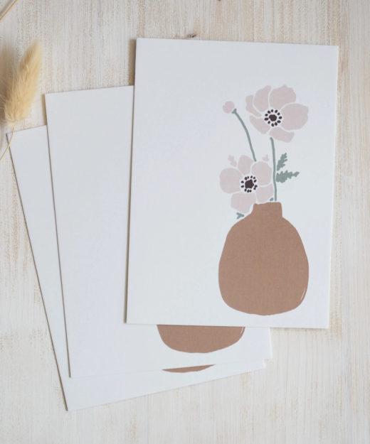Kruth-Design-Postkarte-Vase