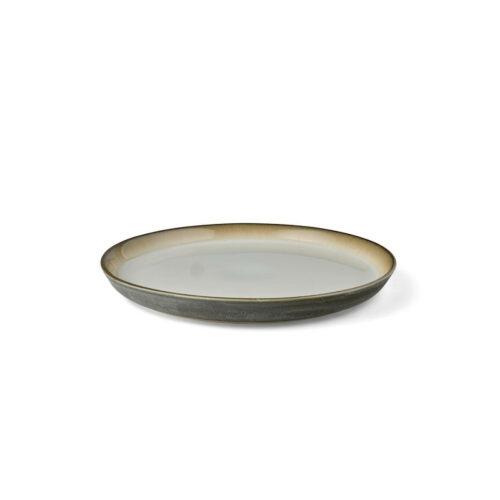 Bitz-Living-Speiseteller-Grau-Cream-seitlich