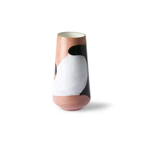 Hkliving-Keramikvase-handbemalt-hinten