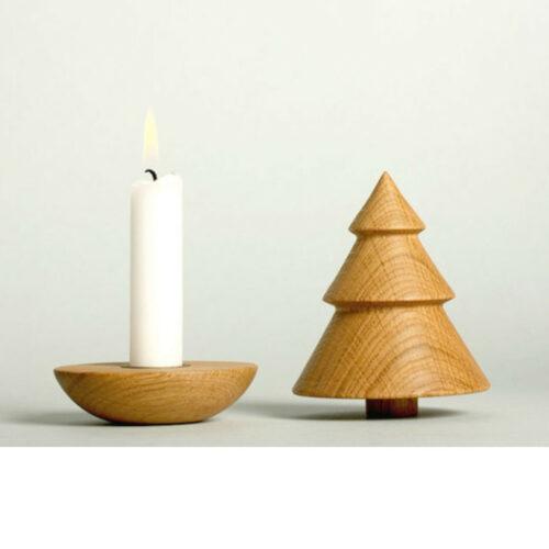 Kerzenständer-Tannenbaum-Eiche-geöffnet