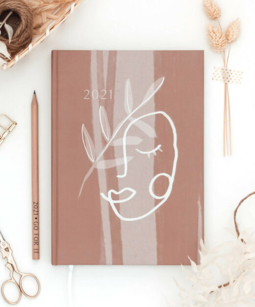 Kruth-Design-Kalender-Face-Line